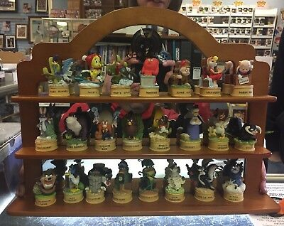 23 Dif Lenox Looney Tunes Thimble With Shelf Foghorn Road Runner Thimbles Figure