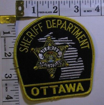 Ottawa County Michigan Sheriff Department Shoulder Patch