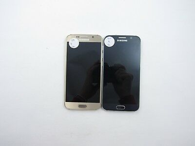 Lot of 2 Parts & Repair Samsung Galaxy S6 G920P Sprint Check IMEI 5PR 1150