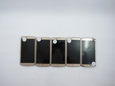 Lot of 5 Parts & Repair LG K10 MS428 Metro PCS check IMEI 5PR 568