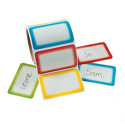 Colorful Name Tags Stickers Self Adhesive Name Tags Labels Party Office School