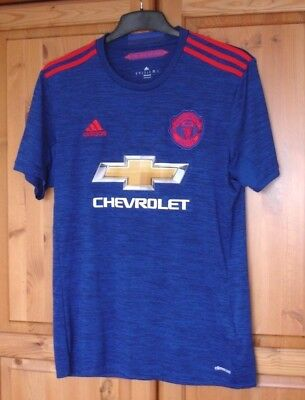 New Mens Manchester United Away Top Size M,  Adidas Climacool