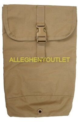 USMC Military FILBE Hydration Pouch 8465-01-600-7887 Coyote EXC
