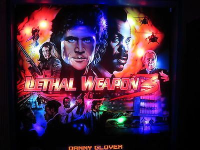 LETHAL WEAPON 3 Complete LED Lighting Kit custom SUPER BRIGHT PINBALL LED KIT