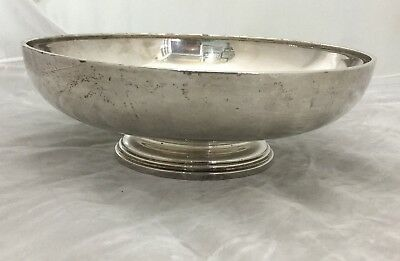 Watson Sterling Silver Footed Bowl