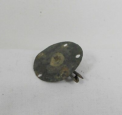 Ancient Roman? Bronze Small Fibula Brooch