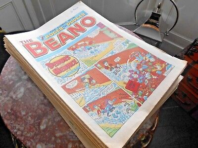 Beano Comics a full year of 1988 every week of 1988 52 comics in good clean cond