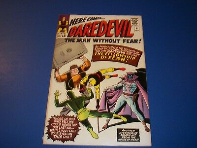 Daredevil #6 Silver Age Last Yellow Costume Solid VG/VG+ Key Wow