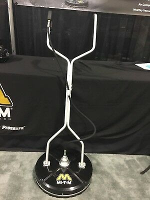 NEW! MI-T-M Rotary Concrete Floor Cleaner Scrubber Power Washer