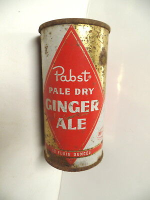 Pabst Ginger Ale Flat Top Soda Pop Can Pabst Brg Milwaukee Wisconsin Wis Wi