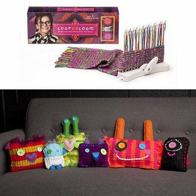 Scarf Gloves Knitting Machine Simple Knitting Loom Kits With Knitting Wool YO