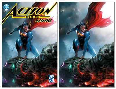 Action Comics #1000 Francesco Mattina Variant Trade/Virgin Set Limited To 1000