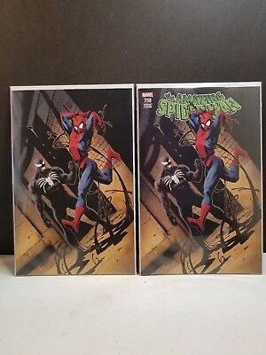 Amazing Spider-Man #798 Gary Frank C2E2 Variant Set Reg Virgin 1St Red Goblin