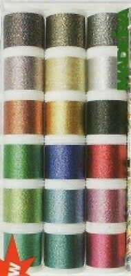Madeira Machine Embroidery Supertwist Thread Gift Box  Assorted Colours (Made...