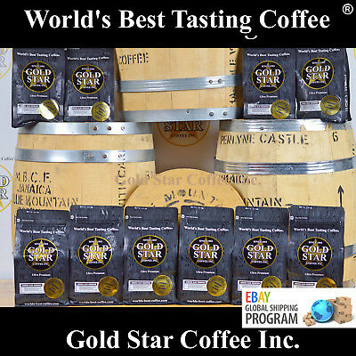 10 LB Jamaica Jamaican Blue Mountain PeaBerry - World's Best Coffee - WorldShip