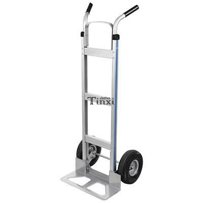 New Heavy Duty Aluminum Dolly Hand Truck with 500 lbs Large Capacity Hot Sale