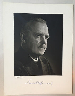 YOUSUF KARSH original photograph of LOUIS ST LAURENT Canada PM signed by both