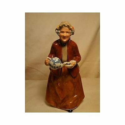 Royal Doulton Teatime Tea Time Lady Figurine HN 2255 1966 England Mint