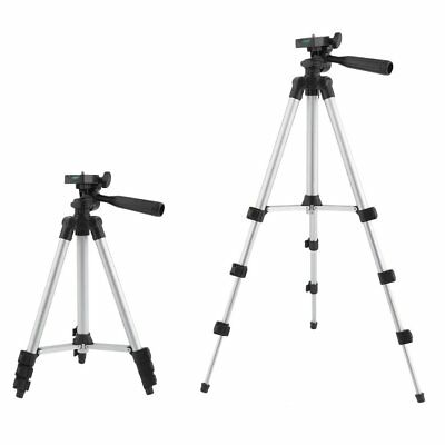 Hot Aluminum alloy Tripod Stand For Canon Nikon Camera Camcorder Portable w/ Bag