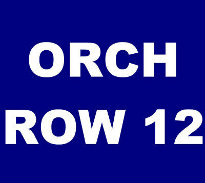 The Avett Brothers tickets Vancouver Queen Elizabeth Theatre 9/13 *ORCH, ROW 12*