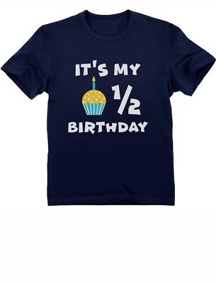 It's My Half Birthday Outfit For Baby 1/2 Birthday Gift Infant Kids T-Shirt Cute