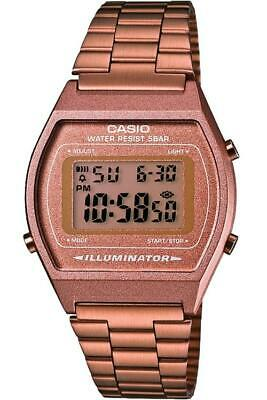 Casio Digital Mens Copper coloured Watch B640WC-5AEF