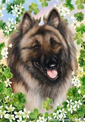 Large Indoor/Outdoor Clover Flag - Belgian Tervuren 31083