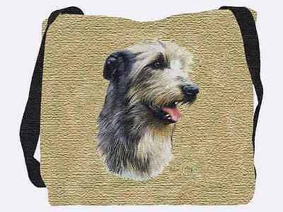 Woven Tote Bag - Irish Wolfhound 3323