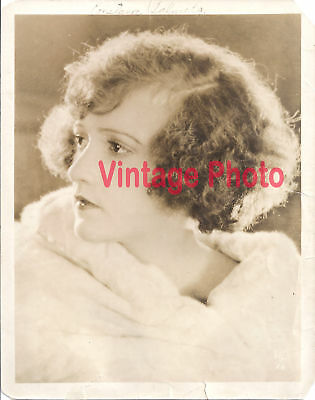 Original 1920's Autographed 8 x 10 Photo of Silent Movie Star Constance Talmadge