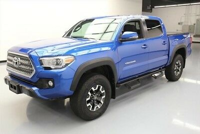 Toyota Tacoma 4x4 TRD Off-Road 4dr Double Cab 5.0 ft SB 6A Texas Direct Auto 2016 4x4 TRD Off-Road 4dr Double Cab 5.0 ft SB 6A Used 4X4