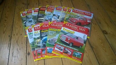 **Classic Van And Pick Up Magazine 14 Issues Nov 2004-Dec 2005-Have A Look**