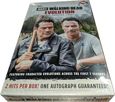 Walking Dead Evolution Factory Sealed Trading Card Hobby Box
