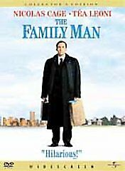 The Family Man (DVD, 2001) Widescreen Collector's Edition Nicolas Cage Téa LEONI