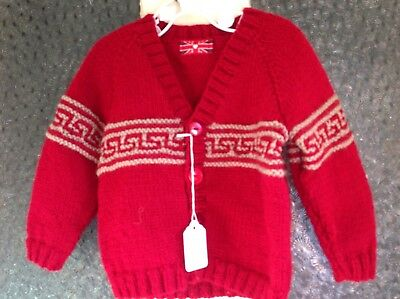 Hand Knitted Boy's Clothes  9-18 mths