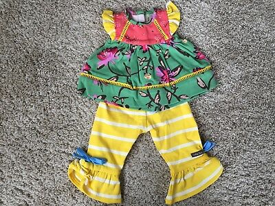 """NEW MATILDA JANE 18"""" Doll clothes Sights to See Tunic and Ruffles"""