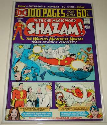 SHAZAM ! # 17 DC Comic (April 1975)   VG/FN    100 Page Special