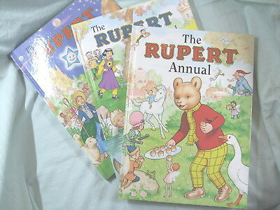 Rupert Annuals 1961, 1962, 1963 - Mint Condition