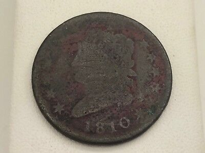 1810 Classic Head Large Cent Penny Estate Find