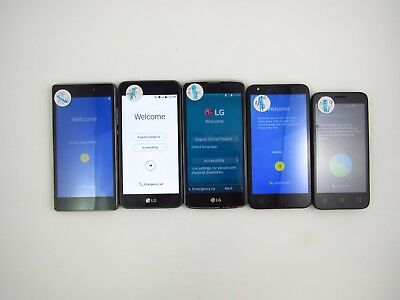 Lot of 5 Google Locked Unknown Carrier Check IMEI 5GL 567
