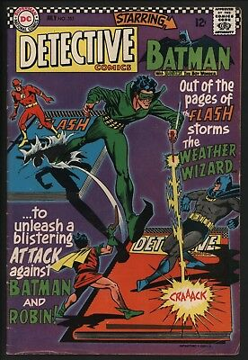 Detective Comics #353 Vs Weather Wizard! Glossy With Lovely White Pages