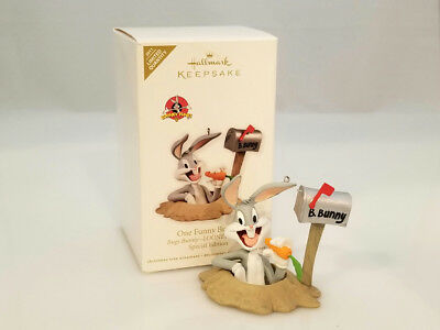 Hallmark Limited Ornament 2011 One Funny Bunny - Looney Tunes Bugs - #QXE3029