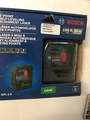 Bosch (GPL5S) - 5-Point Self-Leveling Alignment Laser....NEW!!!