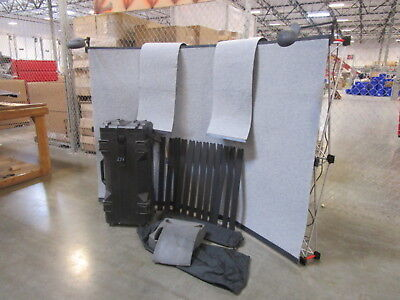 USED Tested Abex Exposure 3 Section Curved Display W/ Lights LOCAL PICK UP(450)