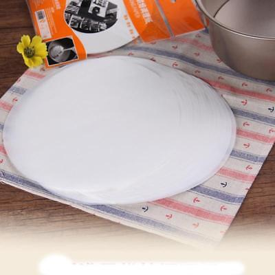 Round Food-grade Non-Stick Parchment Paper Liners High Temperature Baking Q