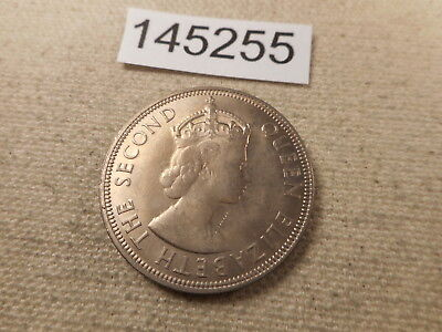 1954 Seychelles One Rupee - Very Nice Collector Grade Album Coin - # 145255 Raw
