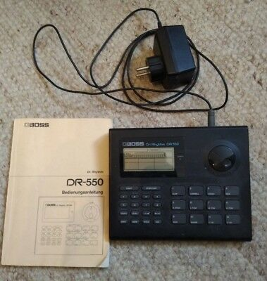 BOSS Dr.Rhythm Dr-550 - Drum Computer (Machine Synthesizer Groovebox Sequenzer )