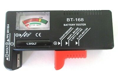 Vérificateur de Batterie BATTERY TESTER Pour AA AAA CD 9V 1.5V IS