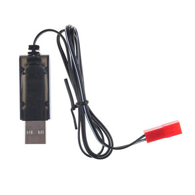 3.7V Black USB Charger Adapter Cable For Sky Viper Drone Helicopter