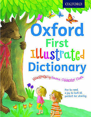 Oxford First Illustrated Dictionary by Andrew Delahunty (Paperback, 2016)