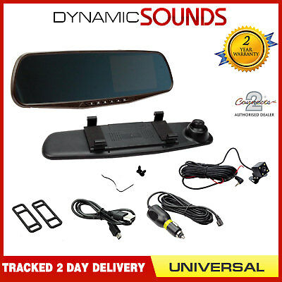 CAM-KIT7 Universal Dash Cam Reverse Camera Kit With Replacement Rear View Mirror